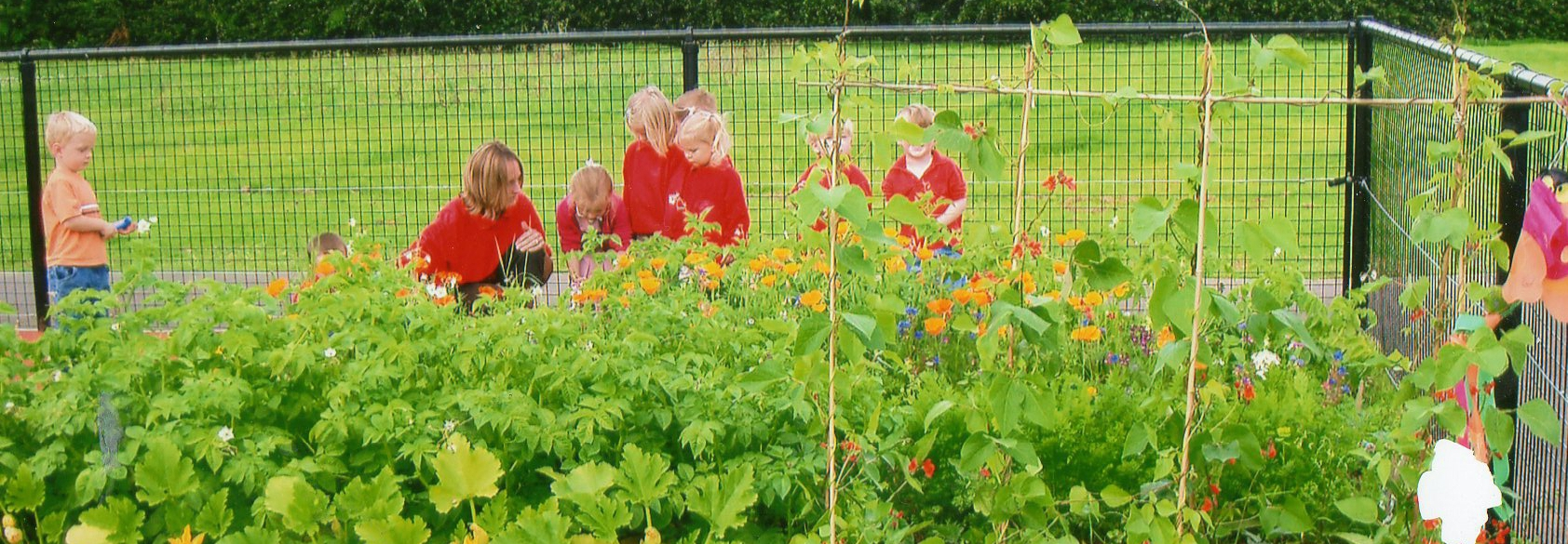 Julie-in-Veg-Patch-with-kids-e1405538231820