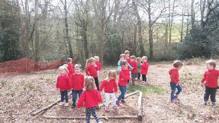 The Forest School at Peasmarsh Rye Nursery