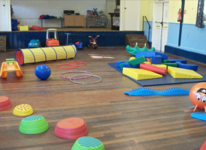 Toddler group - equipment