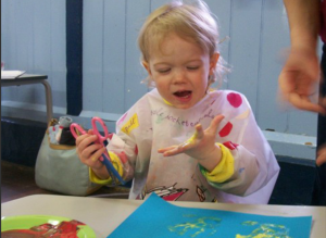 Toddler group - painting